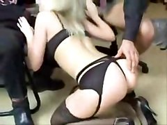 Blonde, British, Whore, Office, Latina shemale office, Xhamster.com