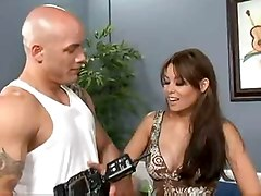 Ryder skye fuck with a long cock on a exercise, Tube8.com