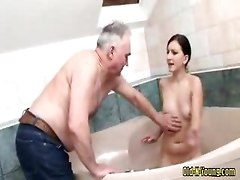 Teen, Old Man, Guest girl fucked old man, Gotporn.com