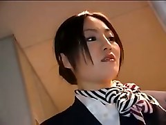 Asian, Stewardess, Stewardess gets fucked, Tube8.com