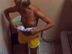 Cute, Solarium, Solarium voyeur with hidden cam in tanning room, Xhamster.com