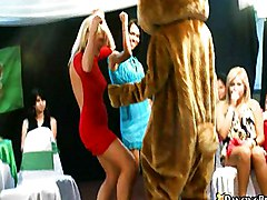Babe, Dance, Dancing bear offers the best cfnm action on the, Redtube.com