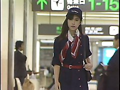 Stewardess, Japanese stewardess, Redtube.com