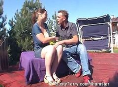 Bus, Outdoor, Christy marks and terry nova, Xhamster.com