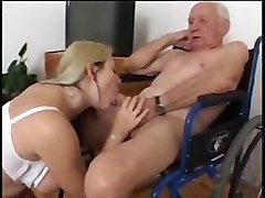 Nurse, Old Man, Seducing old man, Xhamster.com